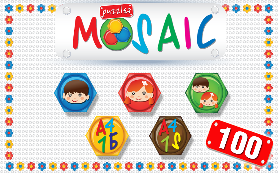 Mosaic Children Lite- screenshot