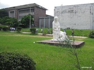 Une vue du site de l'Université de Kinshasa(Unikin), 18/01/2011.