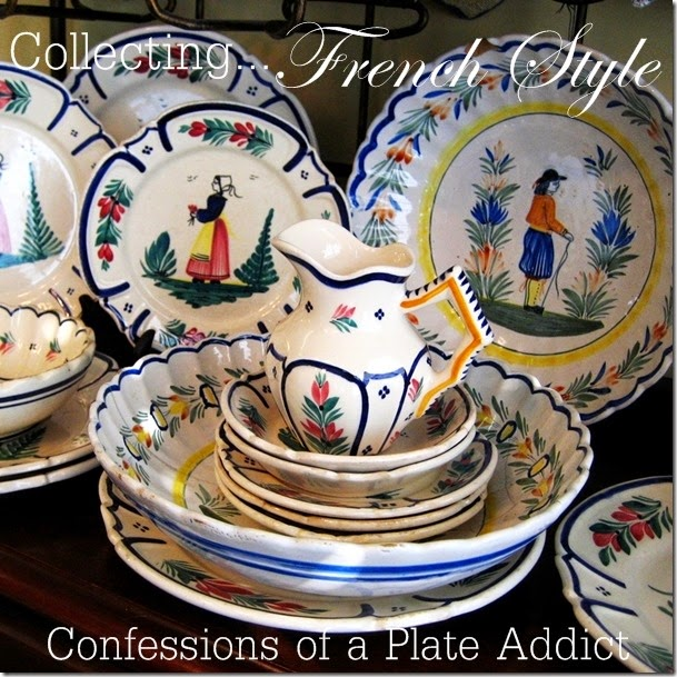 CONFESSIONS OF A PLATE ADDICT Collecting...Country French Style
