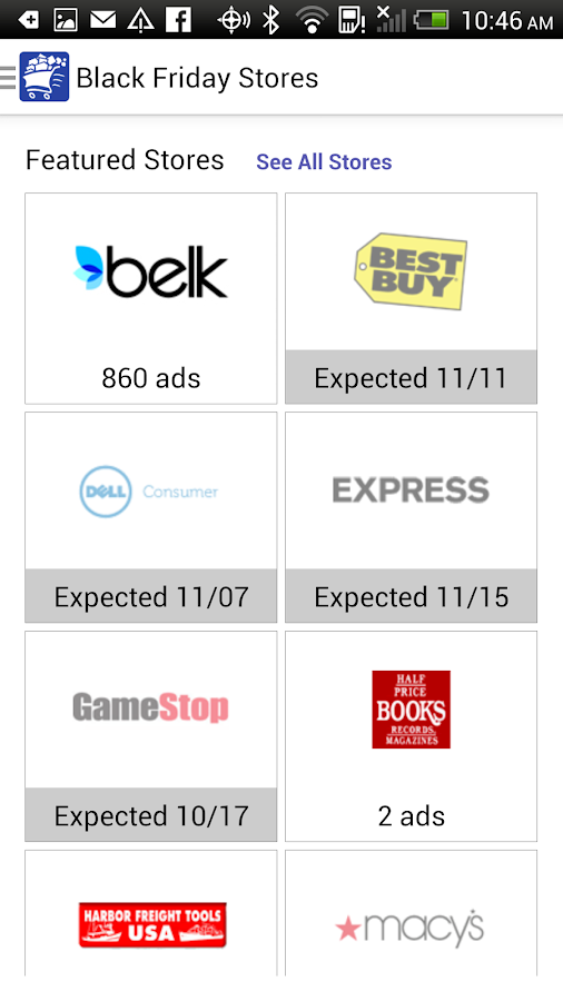 Black Friday 2014 - Best Deals - screenshot