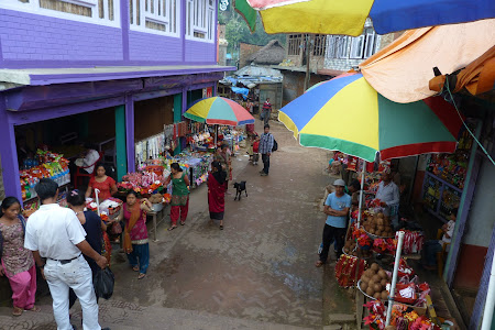 Bazar Manakamana Nepal