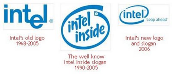 evolution logo Intel