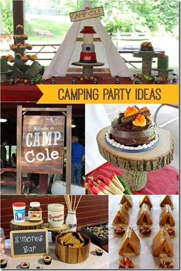 camp birthday party