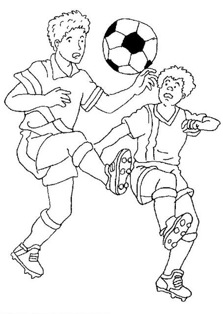 Dibujos De Futbolistas Para Colorear
