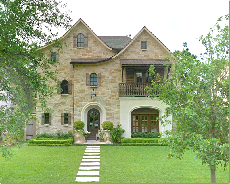 Cote de texas want to see a beautiful house in houston for Texas stone homes