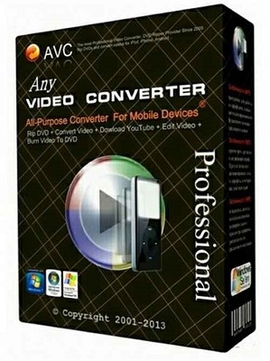 Any Video Converter Pro v5.6.2 Türkçe Full