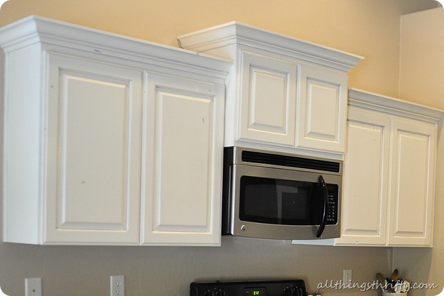 How To Paint Your Kitchen Cabinets All Things Thrifty