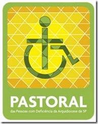 logomarca da Pastoral da Pessoa com Deficiência