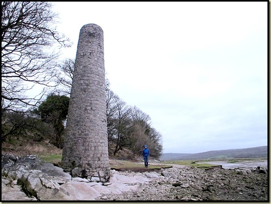 The chimney at Jenny Brown's Point