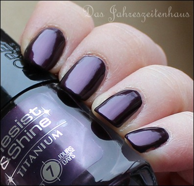 L'Oreal Paris Resist & Shine Titanium - Black Violet 2