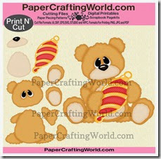 bear w ornament sitting cover-490