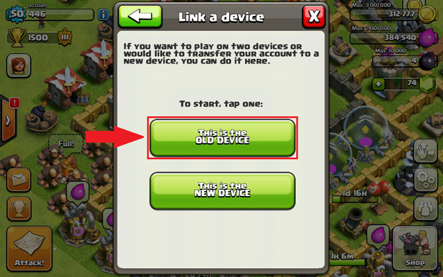 3 import clash of clans to iphone, ipad or android
