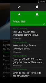 Amber RSS Reader Screenshot 8