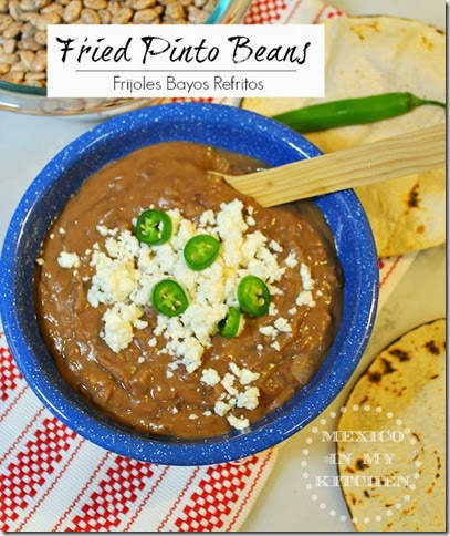 Fried Pinto Beans | Mexican Food Recipes