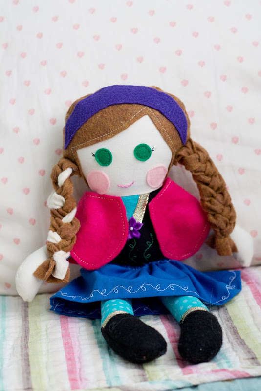 Anna Frozen Doll
