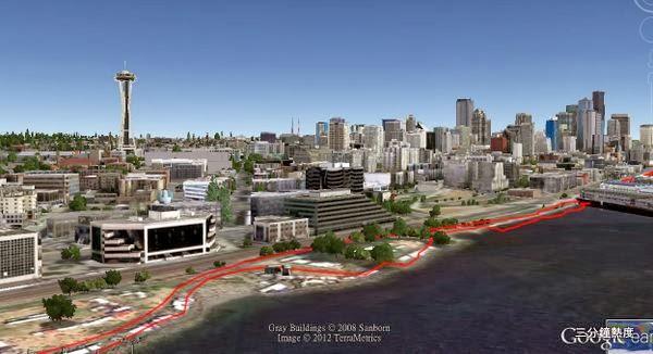 西雅圖漁人碼頭慢跑