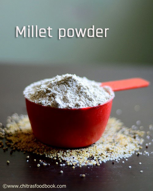 Millet energy mix powder