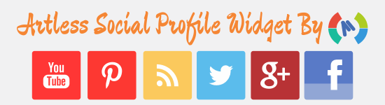 Artless_social_profile_widget