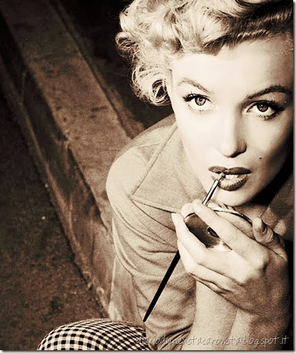 marilyn make up