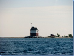 3273 Michigan - Shepler's Ferry to Mackinac Island Lake Huron - Round Island Lighthouse