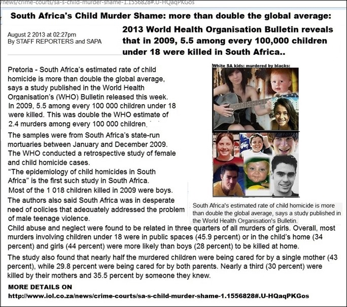 ChildMurderShameOfSouthAfrica2013iolreport