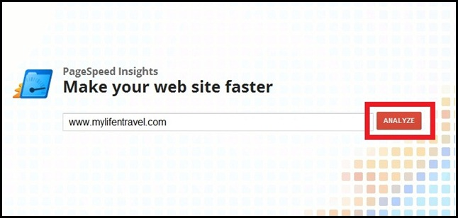 Google PageSpeed Tool 1