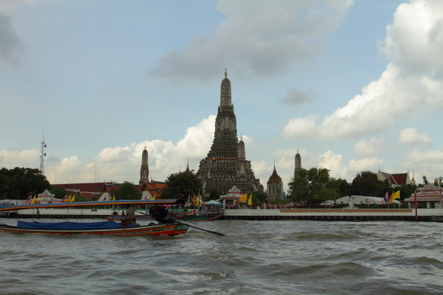 Wat Arun, iconic temple of Thailand