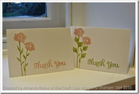 Painted Petals Thank You Notecards, Amanda Bates, The Craft Spa, 2015_01 (1)