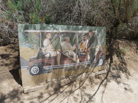 Locul botezului lui Isus Hristos:  Papa si familia regala a Iordaniei