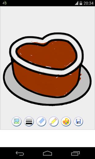 【免費休閒App】蛋糕著色頁-APP點子