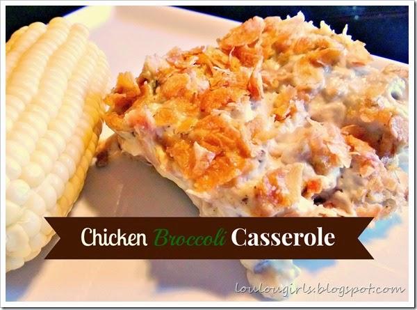 chicken brocolli casserole