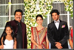 dulquar salman marriage reception