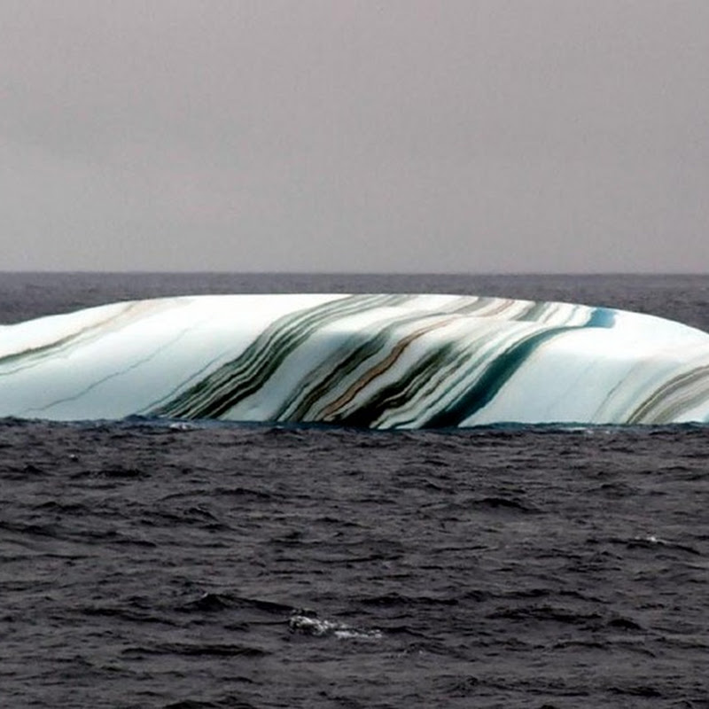 Colour Striped Icebergs