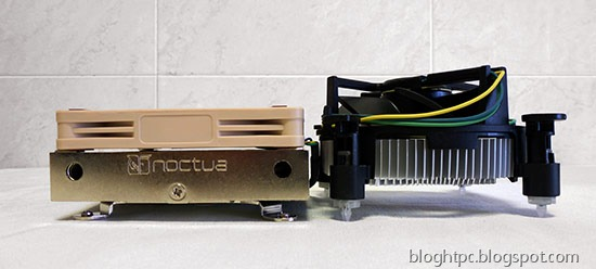 Noctua NH L9i Blog HTPC Intel vs Noctua