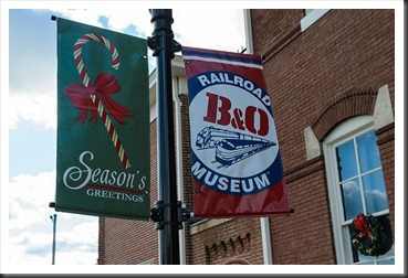 B&O Railroud Museum Flags