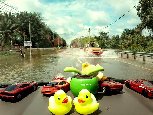 Melawat Mangsa Banjir