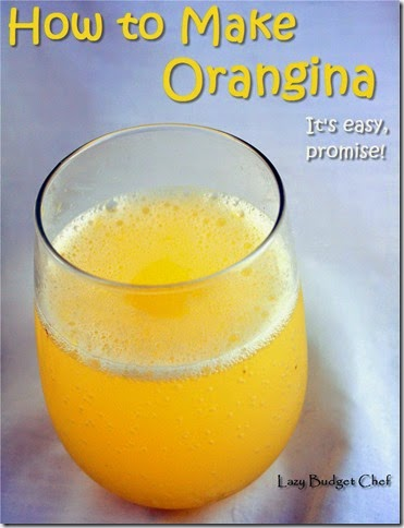 homemade orangina recipe