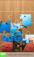 Screenshot of Sharks Jigsaw Puzzles