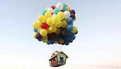 Rumah Terbang Balon