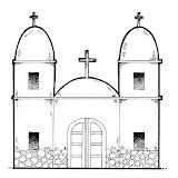 Colorear Dibujos De Iglesias