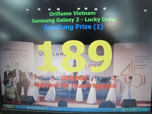 Kết quả bốc thăm trúng thưởng ngày 5-3-2012