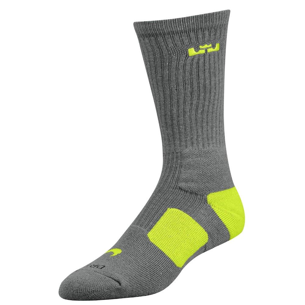 28a06727fceb ... New Nike LeBron Elite Basketball Socks Available at Eastbay ...