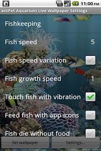 aniPet Aquarium Live Wallpaper v2.5