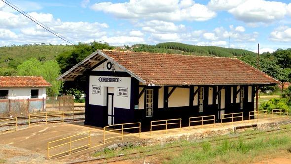 Antiga estação ferroviária de Cordisburgo