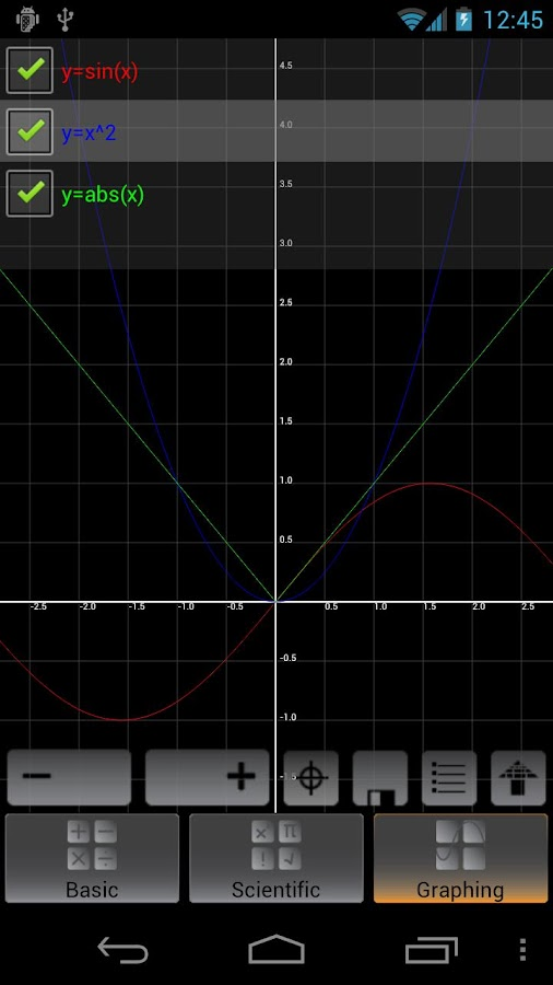 Graphing Calculator Screenshot 3
