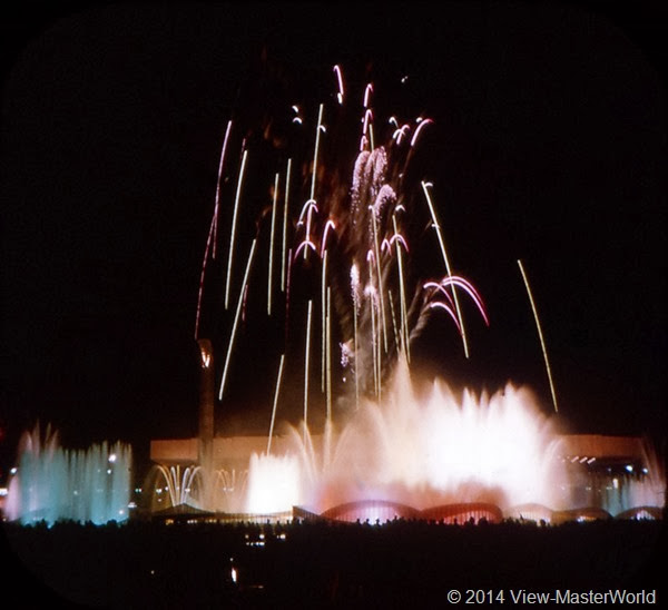 View-Master New York World's Fair 1964-1965 (A671),Scene 10: The Fountain of the Planets