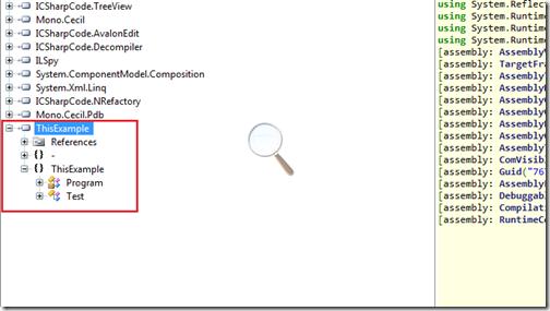 ClassHirerchay with ILSpy-.NET Reflector Alternative