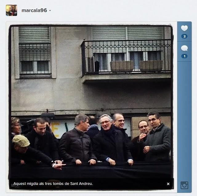 Ai, els polítics a festes com la dels Tres Tombs de Sant Andreu…