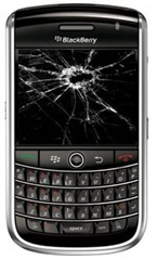 Blackberry broken