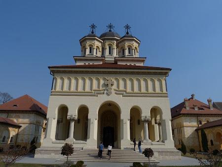 Monumente Romania: catedrala Unirii Alba Iulia